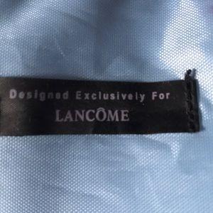 Lancome Bags - Lancôme Microfiber Tote Bag Blue And White Stripe